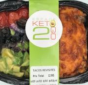 Keto2go Tacos revisités keto / Cétogène (glu: 10,8)