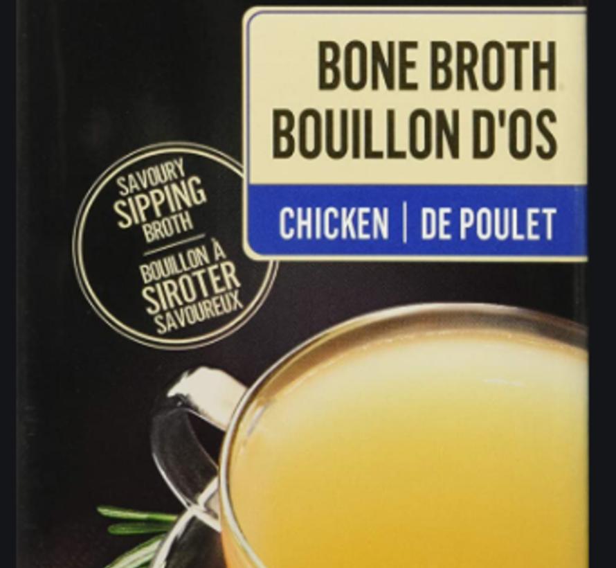Bouillon d'os de poulet