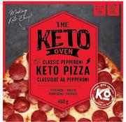 The Keto Oven Pizza classique au pepperoni Keto / Cétogène