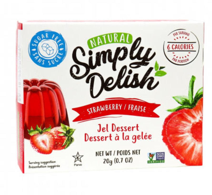 Simply Delish, 20g - Jel dessert (plusieurs saveurs disponibles)