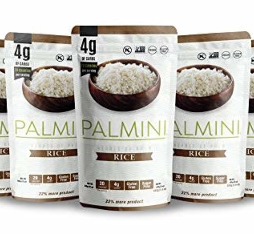 Palmini - coeurs de palmiers: Riz