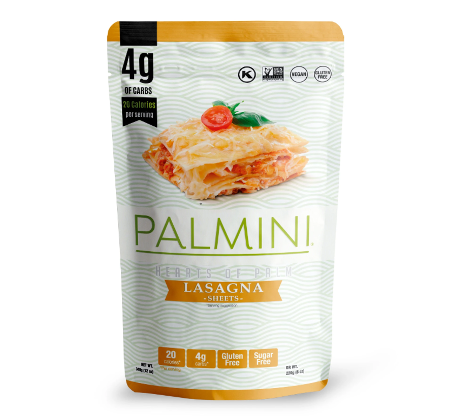 Palmini - coeurs de palmiers: Lasagne