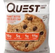 Quest Quest - Biscuits 59g au beurre d'arachides et pépites de chocolat