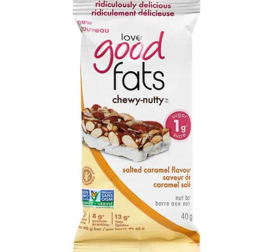 barres collation (39g - Love good fats: plusieurs saveurs)