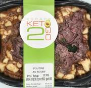 Keto2go Poutine au rosbif Keto / Cétogène (glu: 6.53)