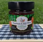 Compliment de belle maman Tartinade de fraises et basilic, 212ml