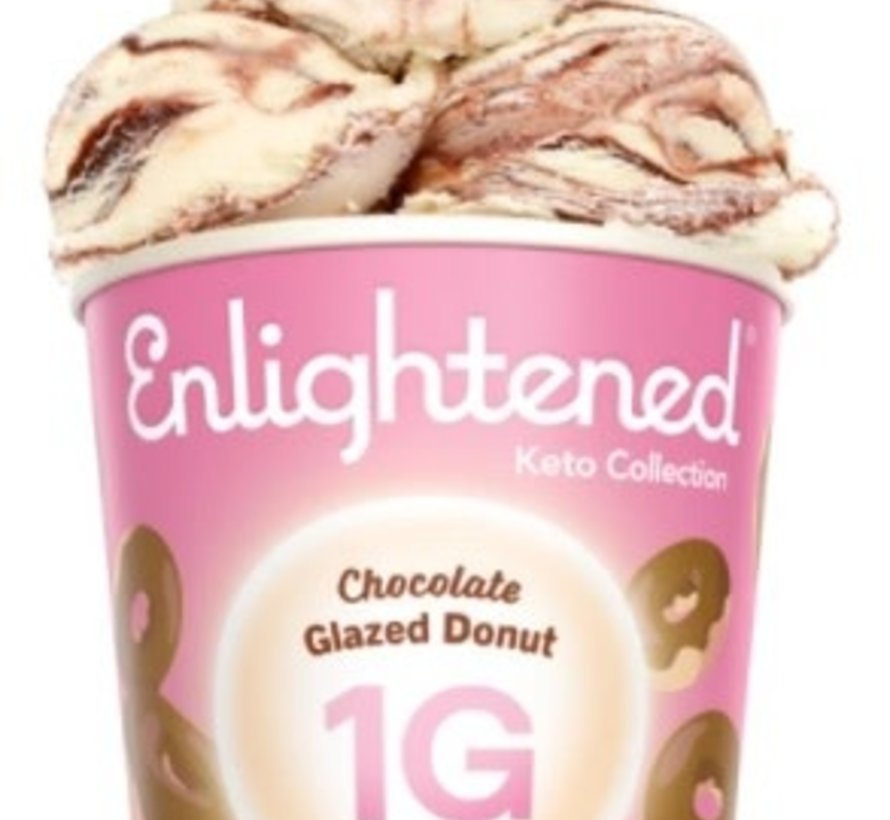 Enlightened, Crème glacée (beigne glacée, 473ml)