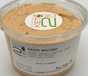 Keto2go Sauce Mac2go Keto / Cétogène (glu: 0.18)