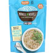 Miracle Noodle Soupe aux nouilles au poulet et au bouillon d'os, 216g