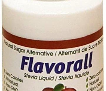 Flavorall Gouttes de stévia liquide Flavorall à la pomme, 50ml