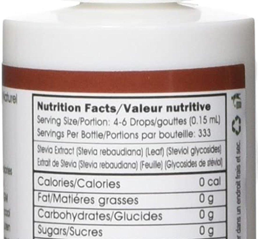 Gouttes de stévia liquide Flavorall à la pomme, 50ml