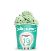 Enlightened Enlightened, Crème glacée (Menthe chocolat, 473ml)