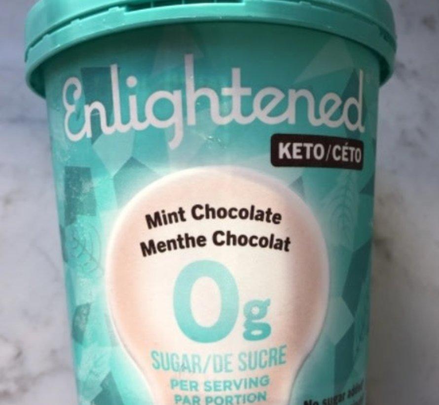 Enlightened, Crème glacée (Menthe chocolat, 473ml)