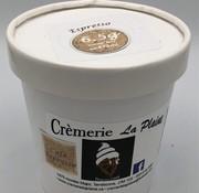 Crèmerie La Plaine Crème glacée Keto / Cétogène (pot 473 ml) - Espresso