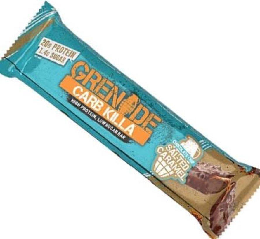 Barre grenade: Salted caramel