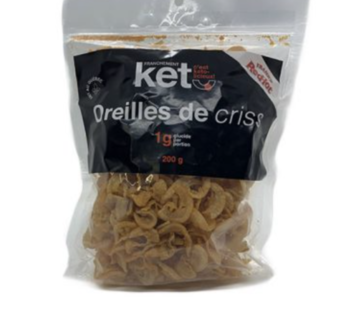 Franchement Kéto Oreilles de crisse (200g - Frank's Red Hot)