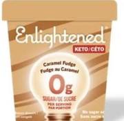 Enlightened Enlightened, Crème glacée (caramel fudge, 473ml)