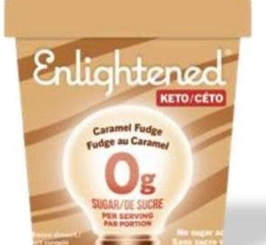 Enlightened, Crème glacée (caramel fudge, 473ml)