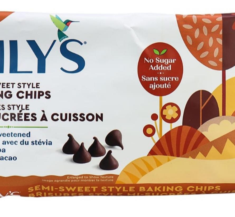 Brisures de chocolat mi-sucrées Lily's