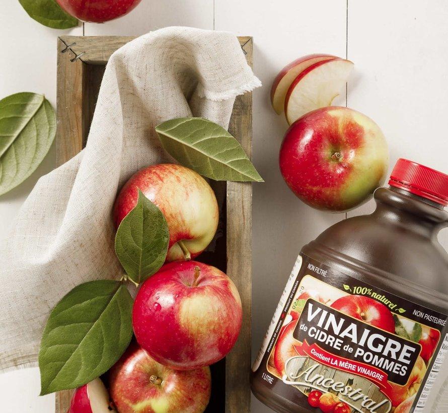 Vinaigre de cidre de pomme (1L, Ancestral)