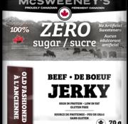 Mcsweeney Jerky de boeuf sans sucre à l'ancienne