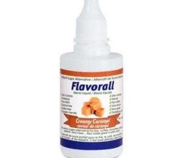 Flavorall Gouttes de stévia liquide Flavorall saveur caramel, 50ml