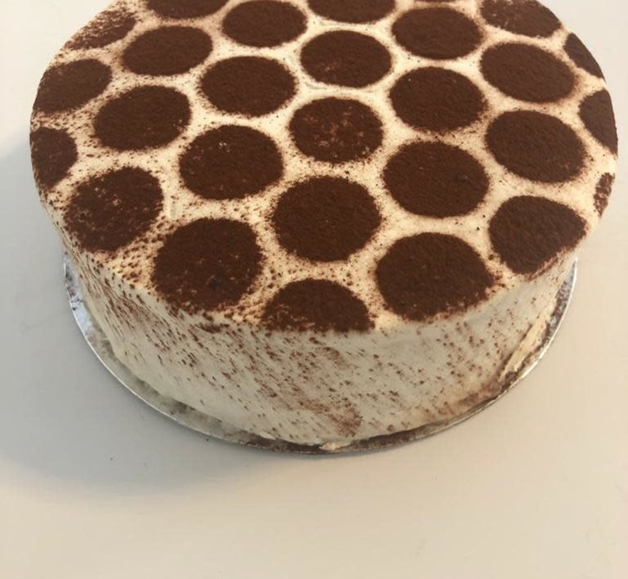 Gâteau Tiramisu Keto / Cétogène (6-8 personnes)