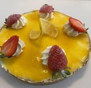 Perle D'or Tarte au citron Keto / Cétogène (6-8 portions)