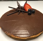 Perle D'or Tarte au chocolat Keto / Cétogène (6-8 portions)