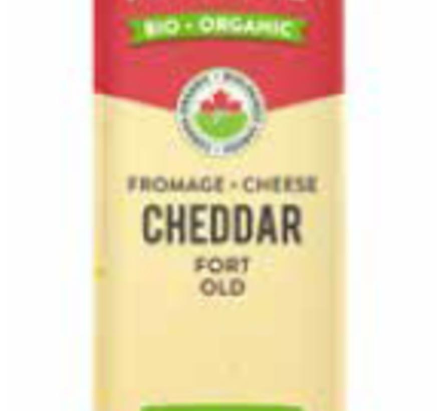 L'Ancêtre cheddar fort bio - Sans lactose (200g)