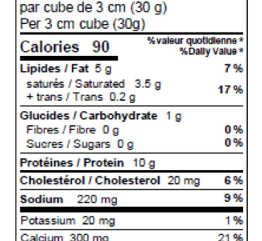 L'Ancêtre mozzarella 15%Mg sans lactose (200g)