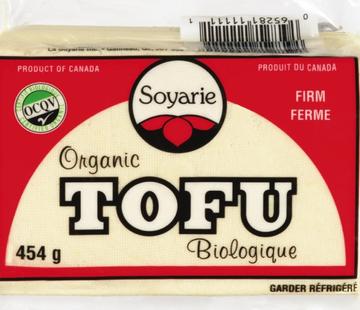 Soyarie Tofu nature ferme bio (454g)