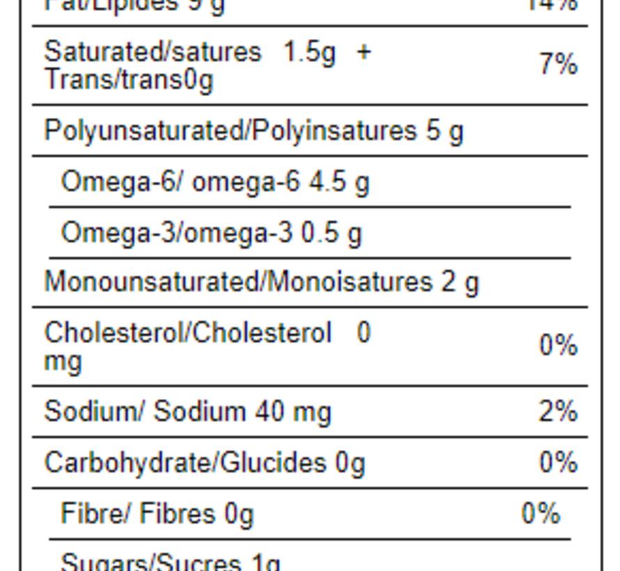 Tofu nature ferme bio (454g)