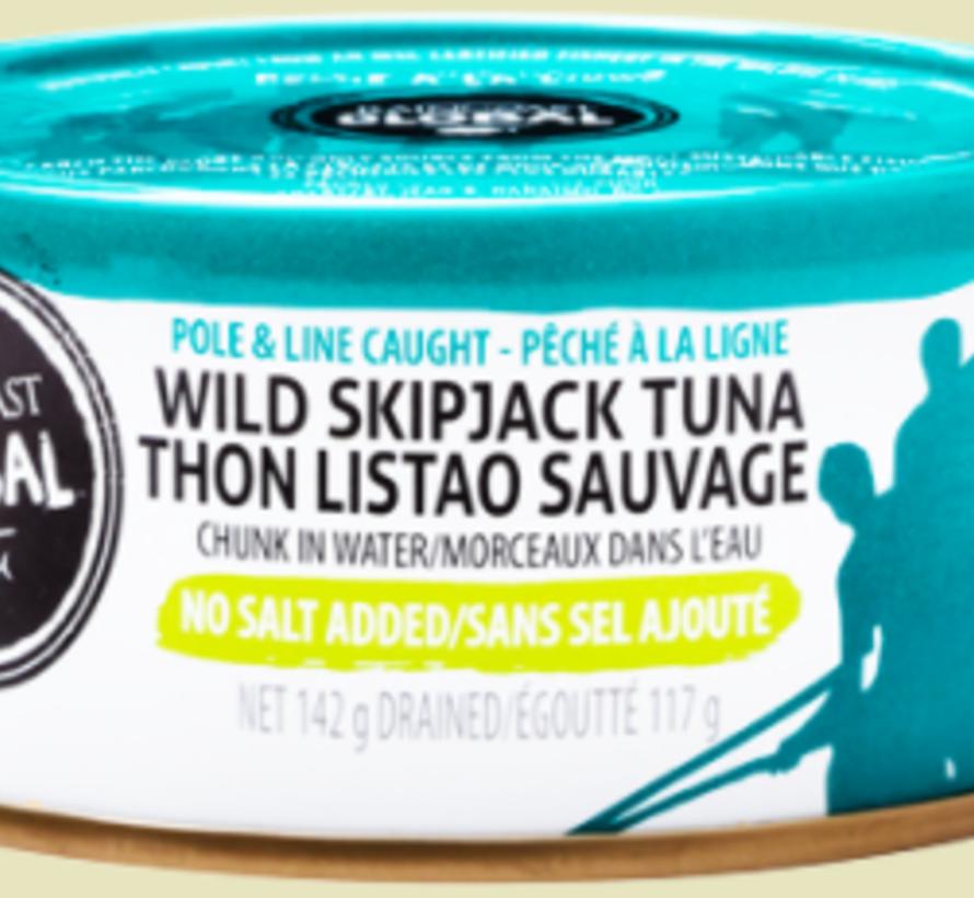Thon Listao sauvage (142 g)