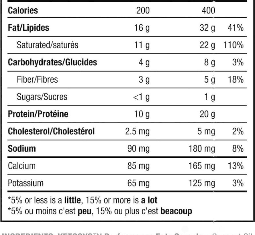 Protéine cétogène naturelle, 2LB