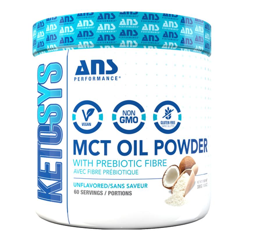 Poudre d'huile MCT avec fibre prébiotique, 300g