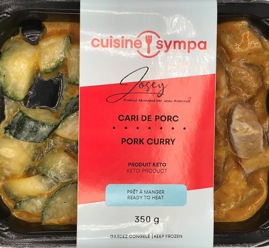 Cari de porc, Cuisine sympa (glu: 3.5)