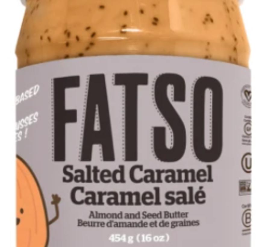 Beurre d'arachide à haute performance 500g (caramel salé croquant)
