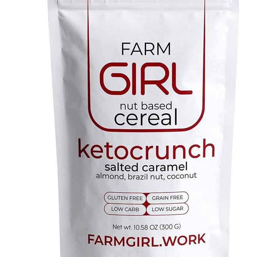 Céréale Ketocrunch au carmel salé - 300g