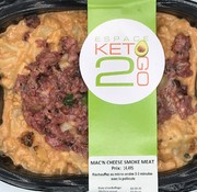 Keto2go Mac'n cheese smoked meat Keto / Cétogène (glu: 5.0 g)