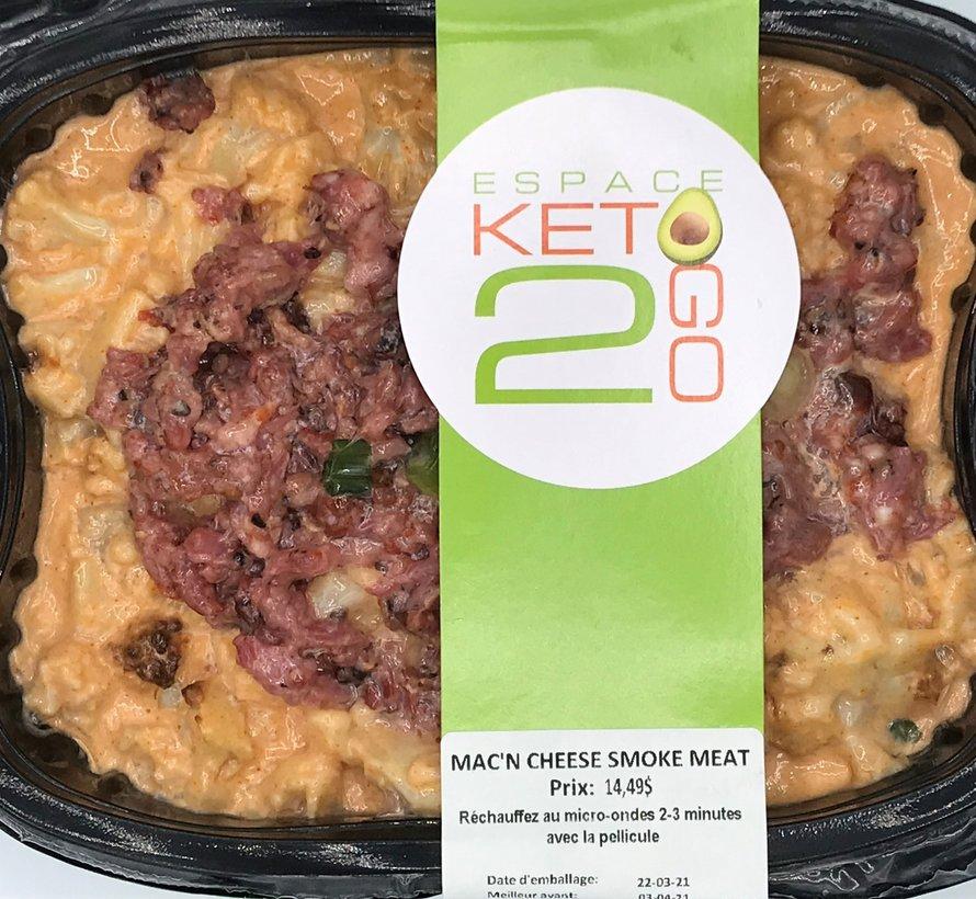 Mac'n cheese smoked meat Keto / Cétogène (glu: 5.0 g)