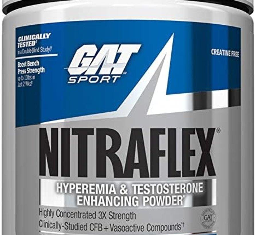 GAT Nitraflex® 300g Blue Raspberry