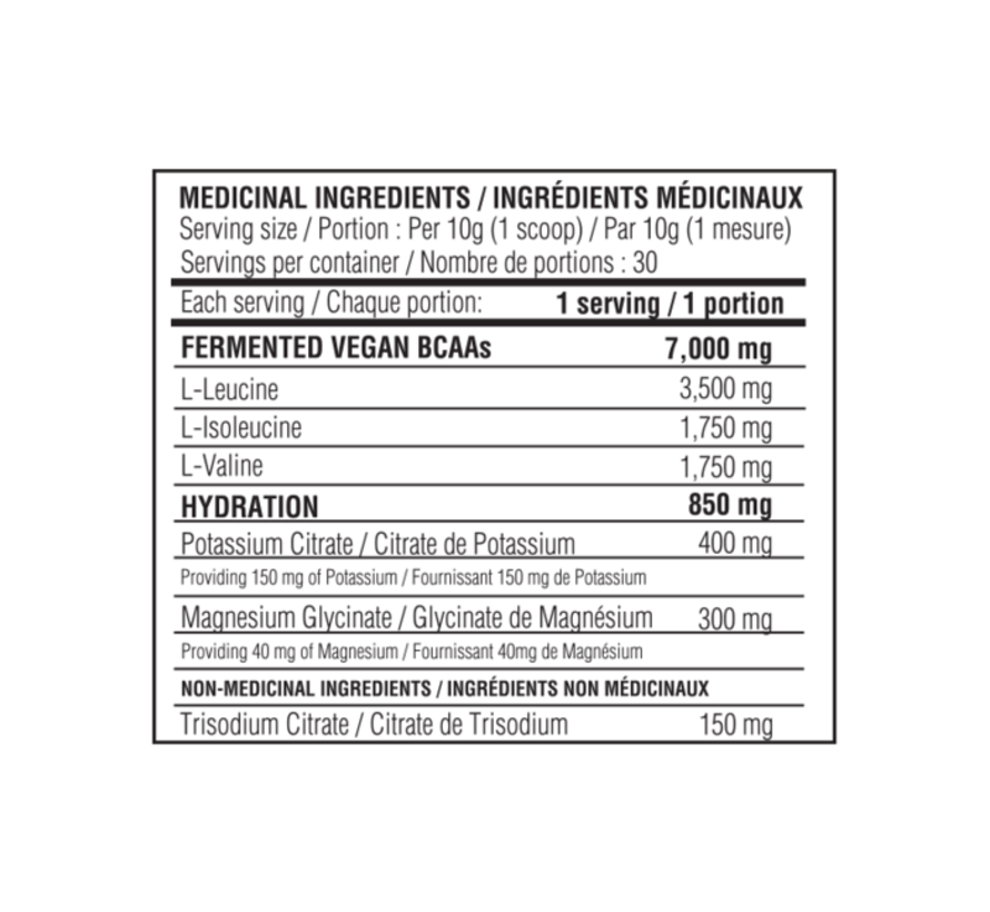 Believe BCAA Cyclone pumpsicle  ( 30 servings)