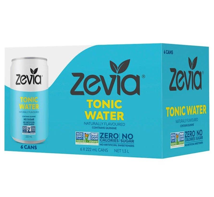 Zevia tonic water (caisse de 6)