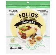 Folios Wraps de fromage parmesan, Folios, 170g