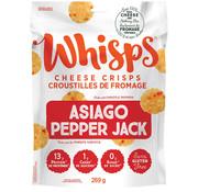Whisps Croustilles au fromage asiago et pepper jack (269g - Cello)