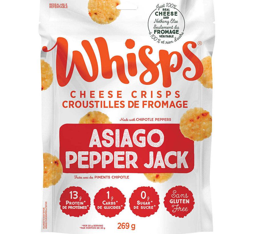 Croustilles au fromage asiago et pepper jack (269g - Cello)