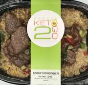 Keto2go Bœuf mongolien Keto / Cétogène (glu: 7 g)