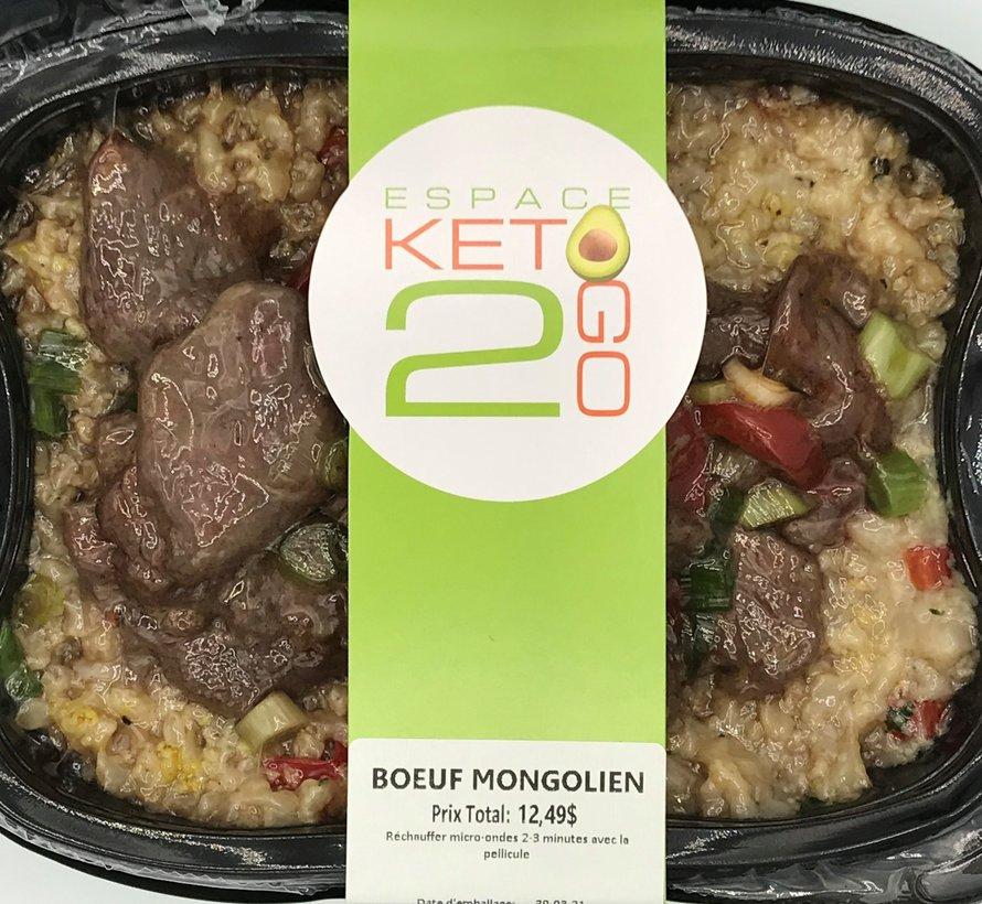 Bœuf mongolien Keto / Cétogène (glu: 7 g)