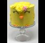 Gâteau au citron Keto / Cétogène (glu: 2 g net / portion)